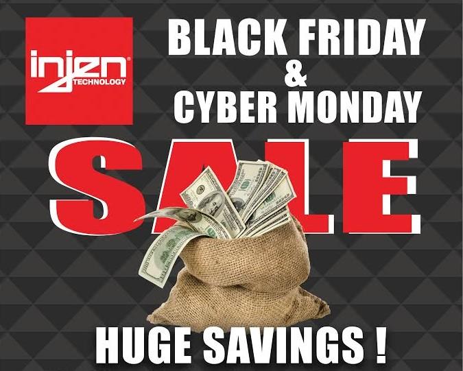 Injen Technology S Black Friday Cyber Monday Sale 11 28 19 Through 12 02 19 5 Star Tuning
