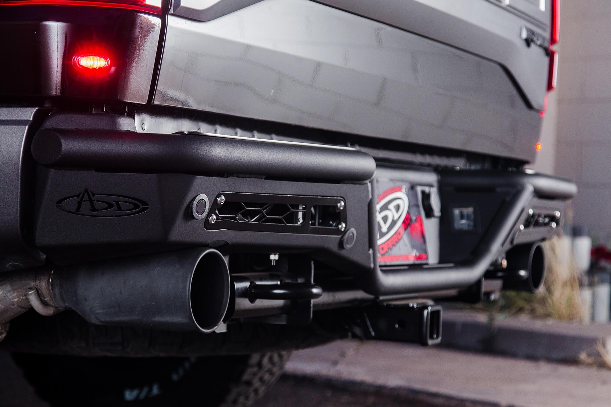 2017 2019 Raptor Add Stealth R Rear Off Road Bumper R113401280103