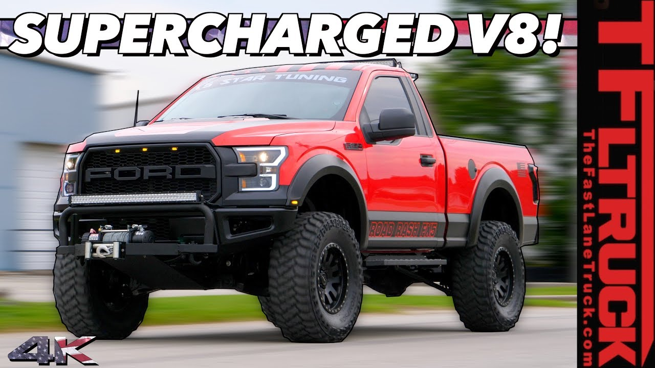 Build A Ford Truck >> Here S The All American 720 Hp Supercharged V8 Monster F 150 Ford