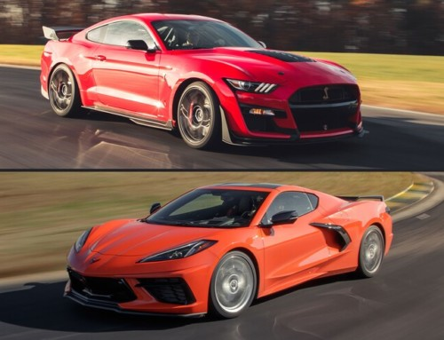 Chevy Corvette C8 vs. Ford Mustang Shelby GT500: A Track Comparison