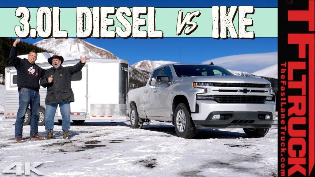 2020 Chevy Silverado 1500 Diesel Vs World S Toughest Towing