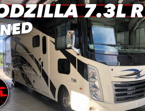 Let It Rev! This 'Godzilla' 7.3L V8-Powered Motorhome Gains 120+ HP and Sounds Very Mean Doing It (5 Star Tuned)