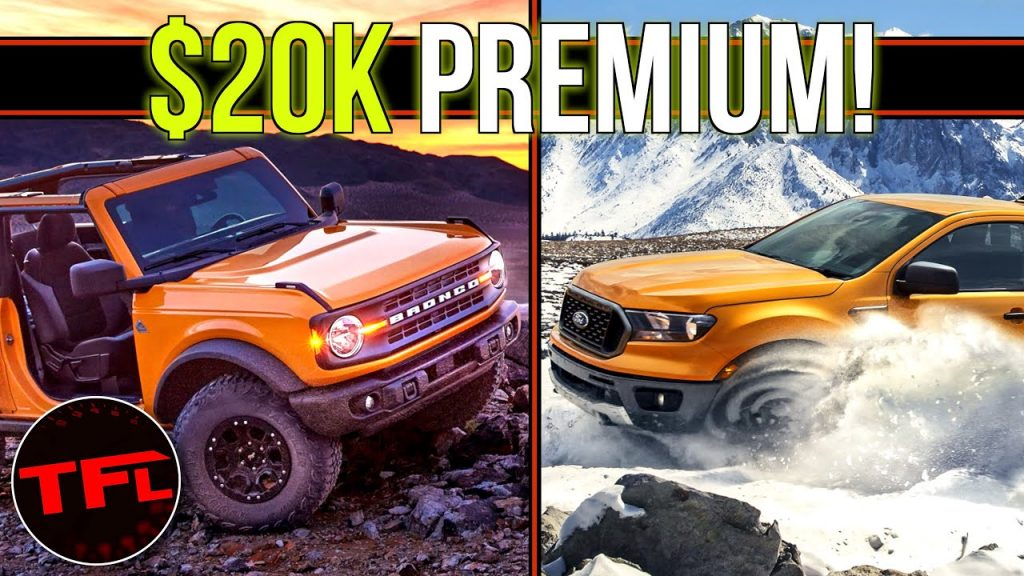 Which One to Buy - 2021 Ford Bronco or Ranger Truck? They ...