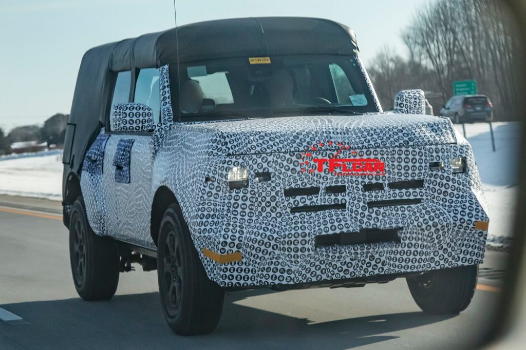 See the 2021 Ford Bronco Prototype on the Highway! Here Is ...