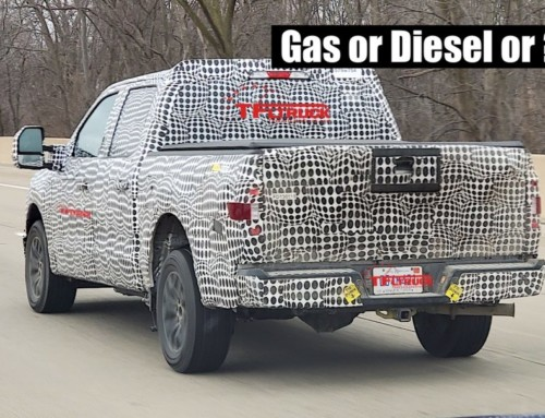 Is This 2021 Ford F-150 Prototype a Diesel, EcoBoost, or Coyote V8-Powered? Leaked Specs