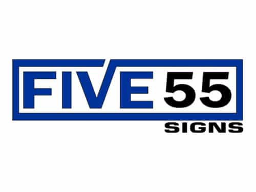 Five 55 Signs