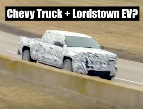 Watch a Lordstown Endurance Electric Truck Wear a Chevy Silverado Body for Testing