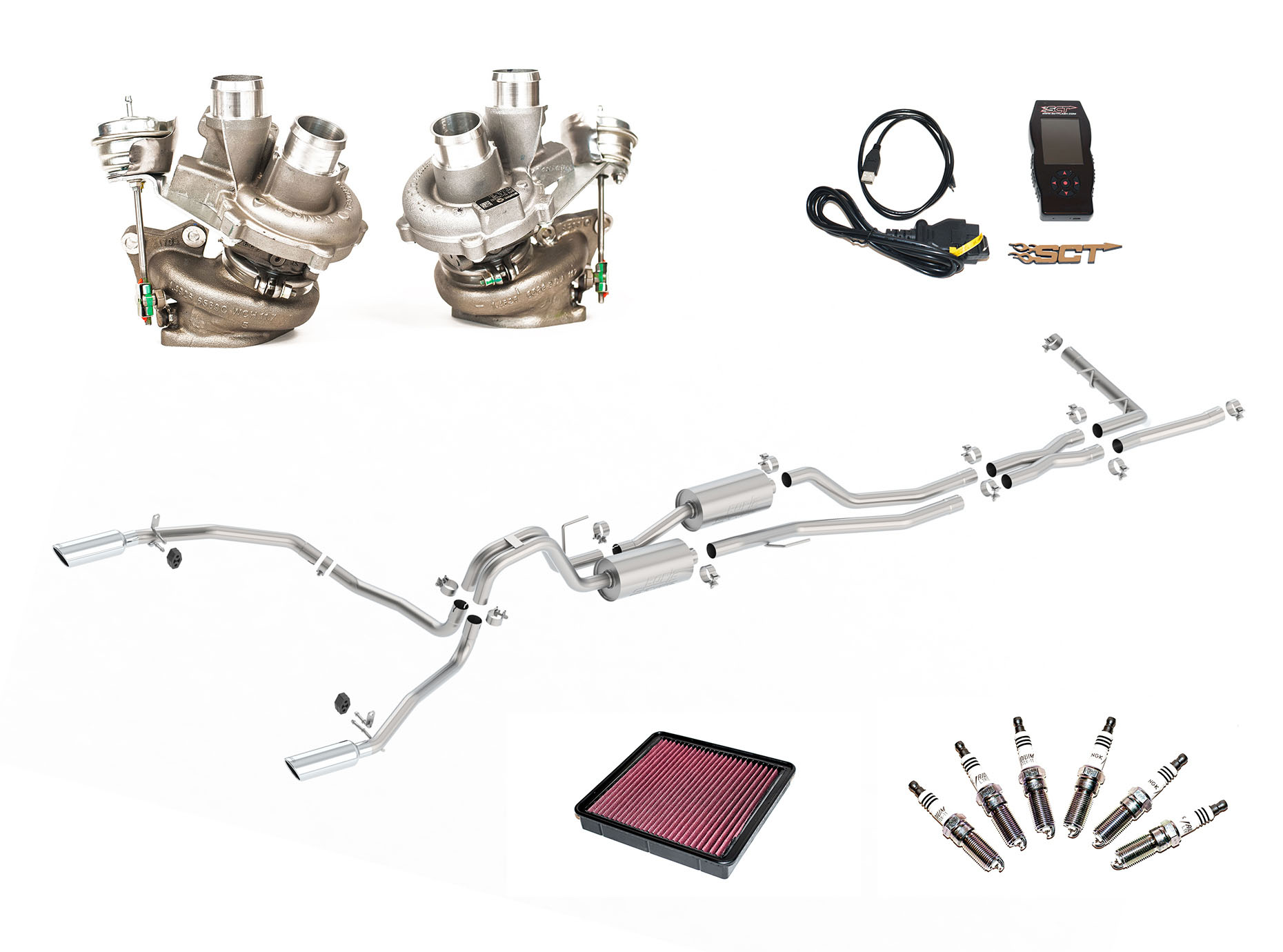 2017 2016 Ford F150 3 5l Eb Borla Turbocharger Upgrade Kits 251006