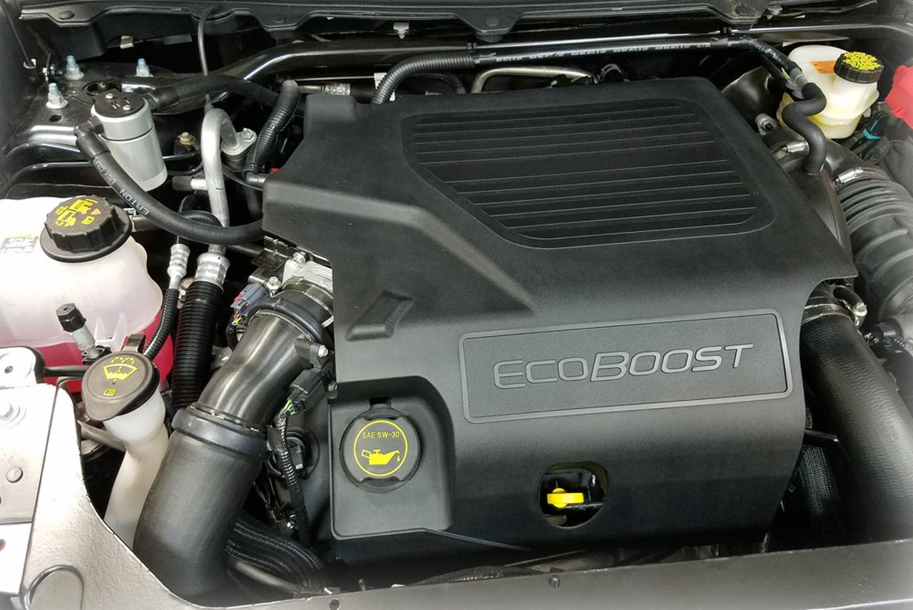 Flex 3.5 Ecoboost for Ford 2010 JLT 3.0 Oil Separator Passenger Side Black