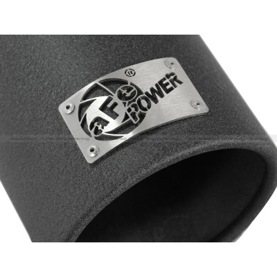 """aFe Power Mach Force-Xp 3/"""" 409 Stainless Steel Exhaust Tip #49-92043-B"""