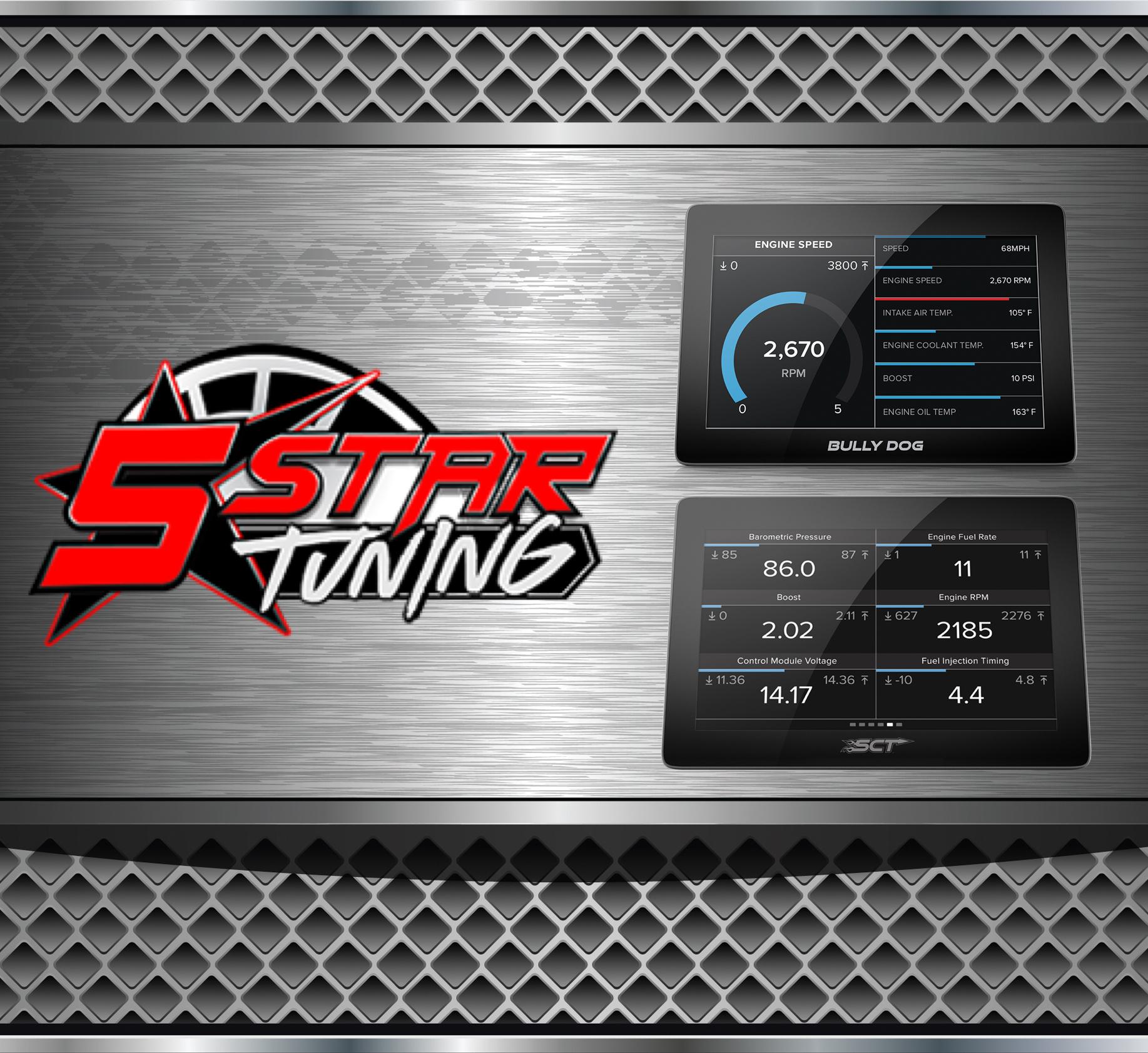 SCT 7015 X4 Power Flash Programmer Tuner Ford PowerStroke 7.3 6.0 6.4 6.8 Diesel