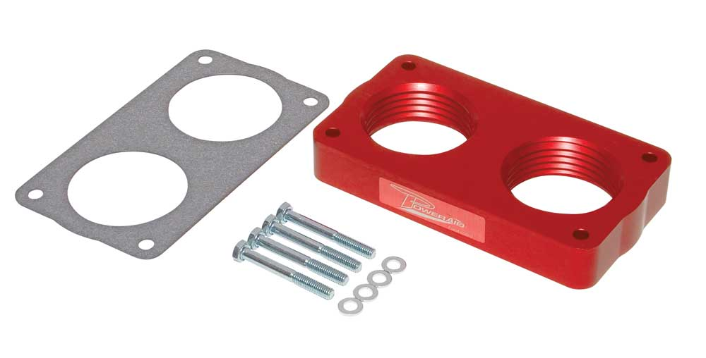 1997-2004 Ford Expedition F150 F250 F350 Red Throttle BodySpacer Kit 4.6L 5.4L