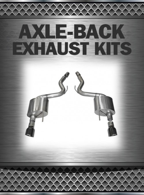 2005-2010 Mustang 4.0L/4.6L Exhaust Axle Back