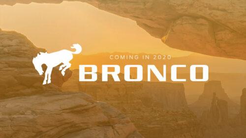 2020 Bronco 2.3L Ecoboost