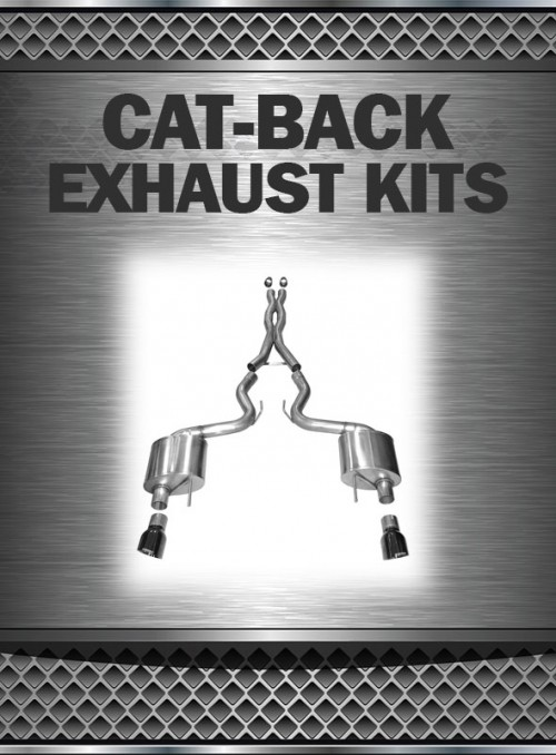 2011-2014 Mustang 3.7L/5.0L Exhaust Cat Back