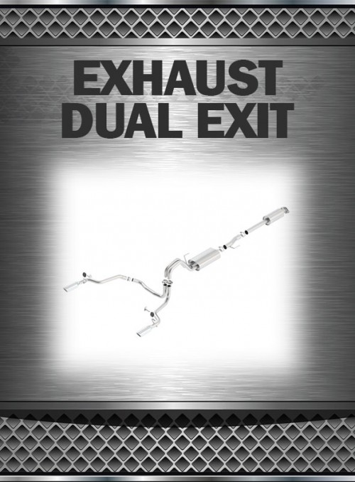 2009-2010 Super Duty 5.4L Exhaust Dual Exit