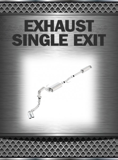 1999-2004 Super Duty 6.8L Exhaust Single Exit