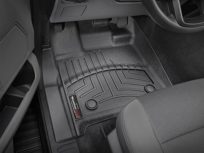 Ranger Weathertech Digitalfit Front Floor Mats Black