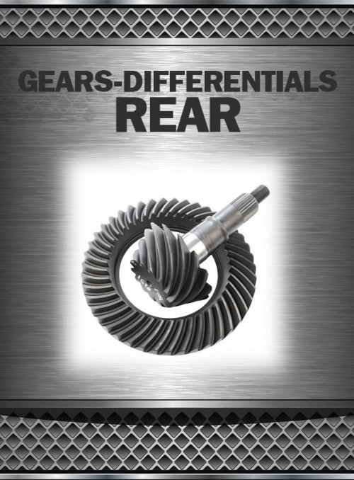 2009-2010 F150 4.6L/5.4L/Raptor 5.4L Gears & Differential Rear