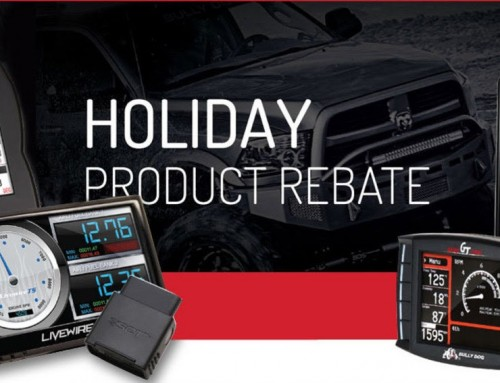SCT Tuners Holiday Rebate – November 1st – December 15th