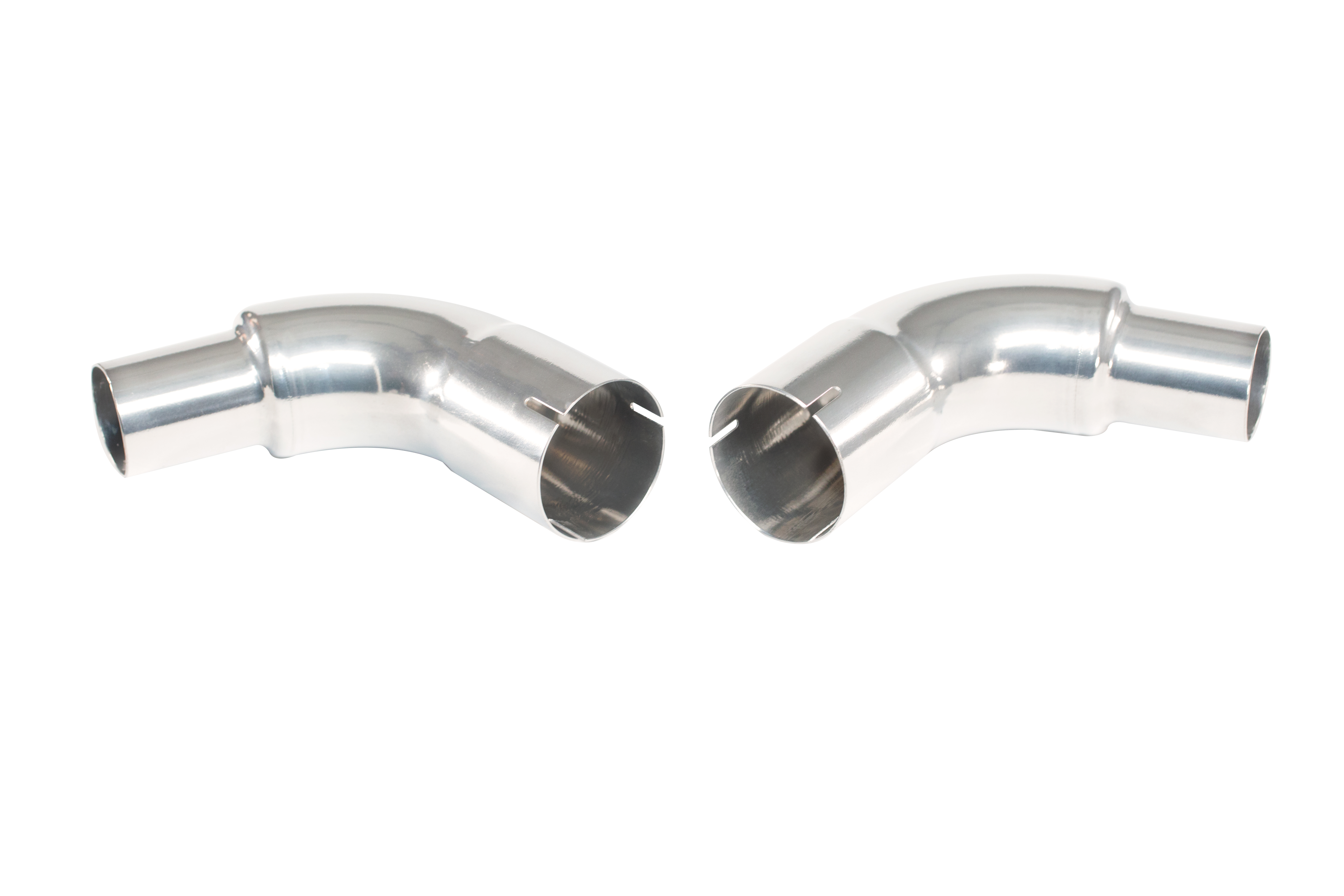 2015-2017 Ford Mustang GT 5 0L 4V Kooks Headers with Jet Hot Classic Polish  Coating 000002