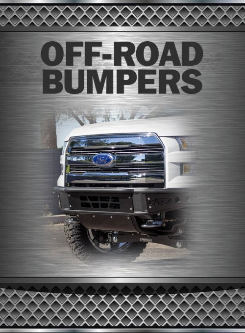 2011-2016 Super Duty 6.2L Off-Road Bumpers