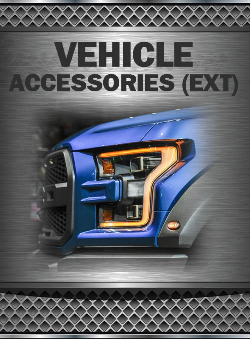2019+ F150 3.5L HO EcoBoost Vehicle Accessories (Exterior)