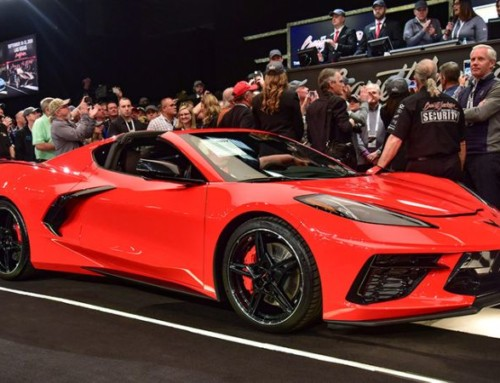 FIRST MID-ENGINE C8 CORVETTE SELLS FOR 3 MILLION DOLLARS!