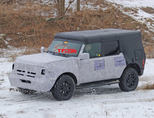 BREAKING: 2021 Ford Bronco Spy Shots Show Off The Upcoming Four-Door Model