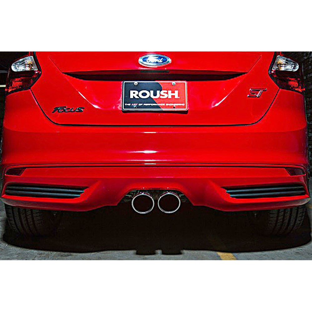 2013 2018 focus st 2 0l roush high flow exhaust kit 421610. Black Bedroom Furniture Sets. Home Design Ideas