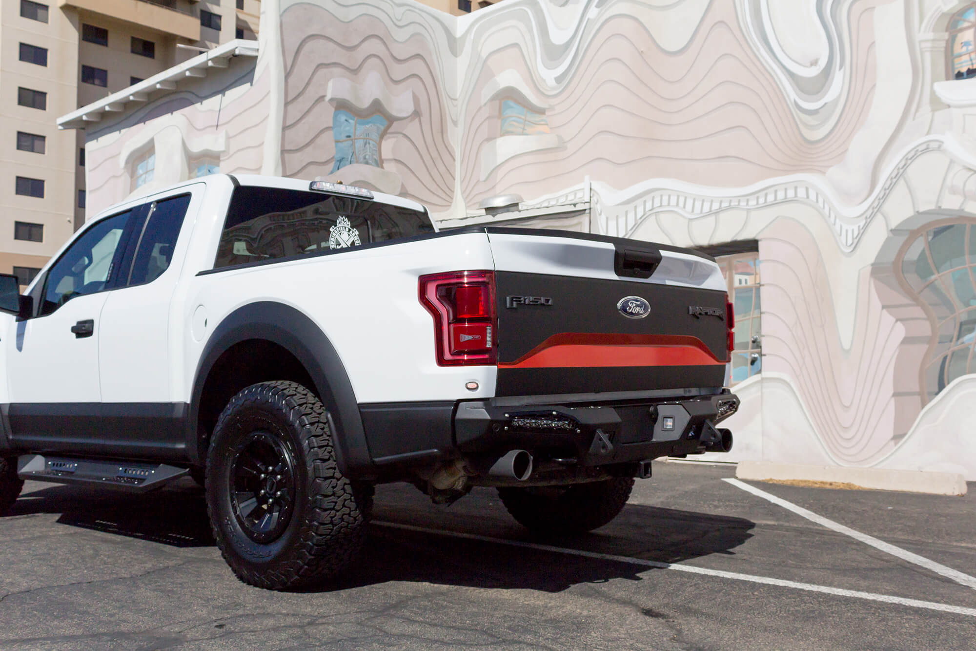 Off Road Bumpers F150 >> 2017-2018 Raptor ADD Honey Badger SR Mount Rear Off-Road ...