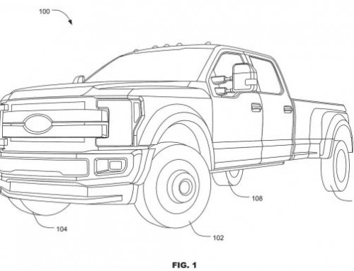 Patent News! Ford F-Series Heavy Duty Trucks with Rear Wheel Steering