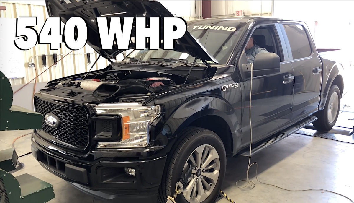 2.7 L Ecoboost V6 >> Here Is How To Make 540 Wheel Horsepower With A Ford F 150 2 7l