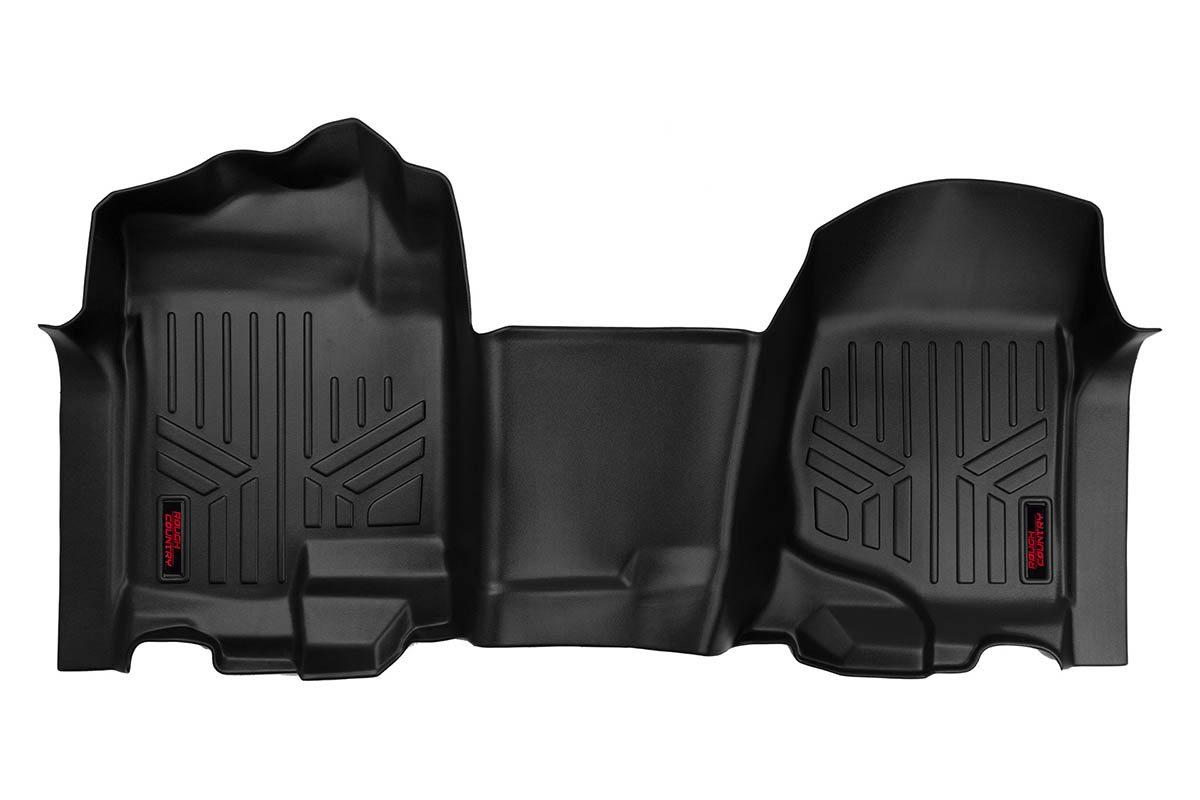 Remarkable Heavy Duty Floor Mats Front 07 13 Chevy Silverado Gmc Sierra Bench Seats M 2107 Short Links Chair Design For Home Short Linksinfo