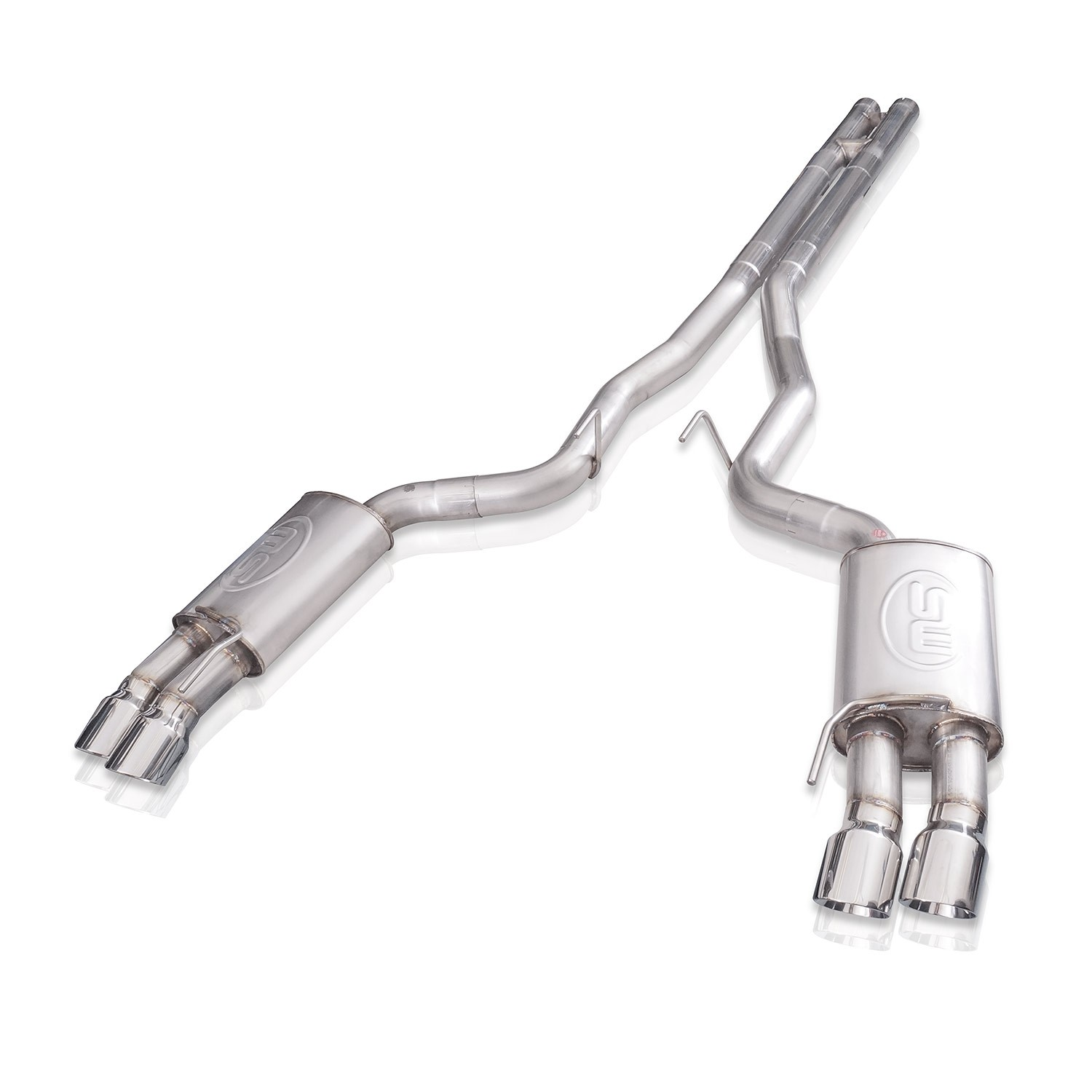Ford mustang gt redline h pipe performance connect cat back exhaust m18cbhpc  