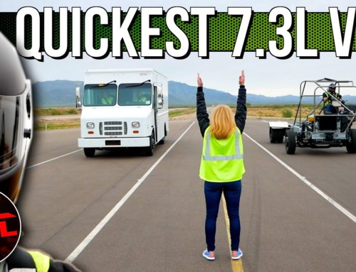 Ford 7.3L V8 Van vs RV vs Chassis: This Is NOT The World's Greatest Truck Drag Race, But It's Cool!